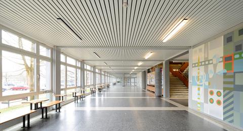 Flur Seminargebäude 2 Olshausenstraße 75