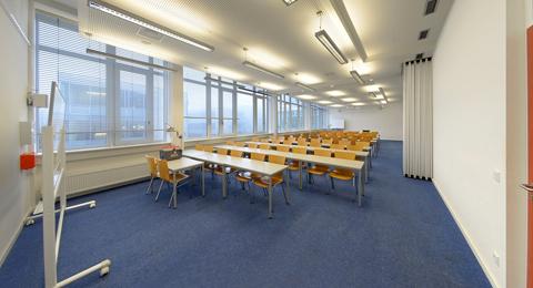 Seminarraum 106 und 106b (offen) Leibnizstraße 1