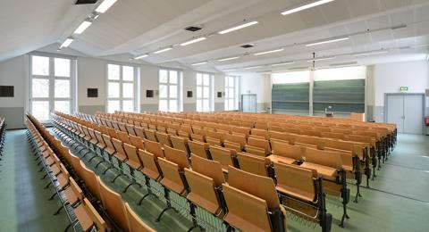 Norbert-Gansel-Hörsaal (Raum 14) Olshausenstraße 40